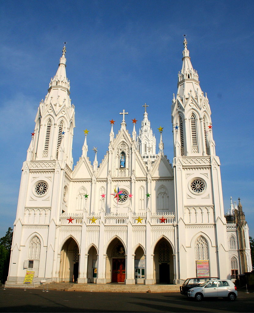 Best Church in Kerala-Basilica of Our Lady of Dolores, Thrissur
