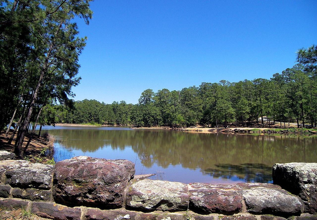 Popular Hiking Spot in Houston-Bastrop State Park