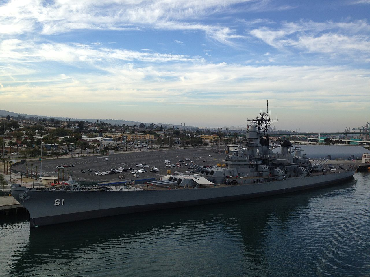 Best Museum in Los Angeles-Battleship USS Iowa Museum