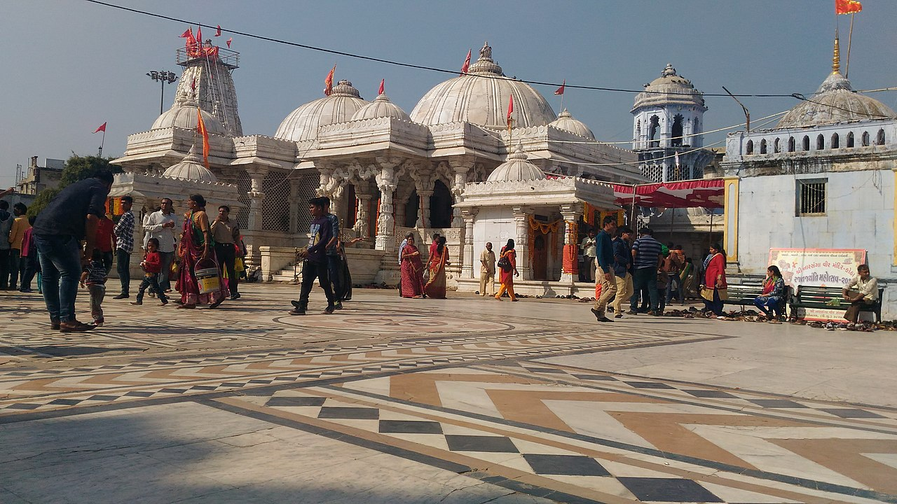 Becharaji temple or Bahuchara Mata Temple in Mehsana Gujarat