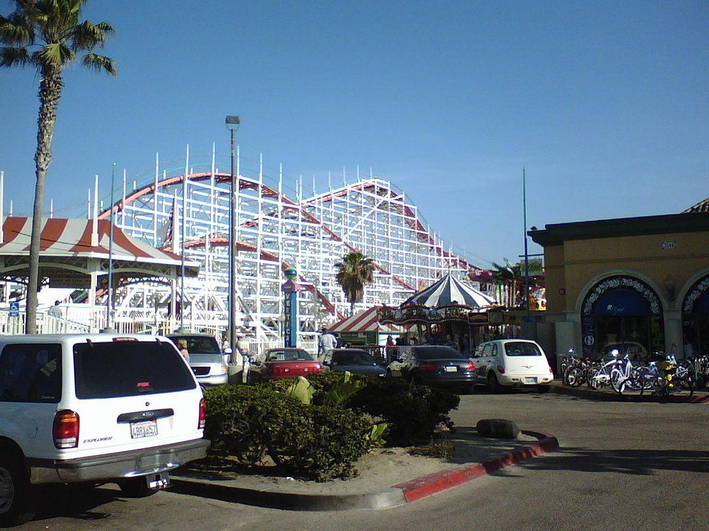 Beautiful Theme Park In California-Belmont Park