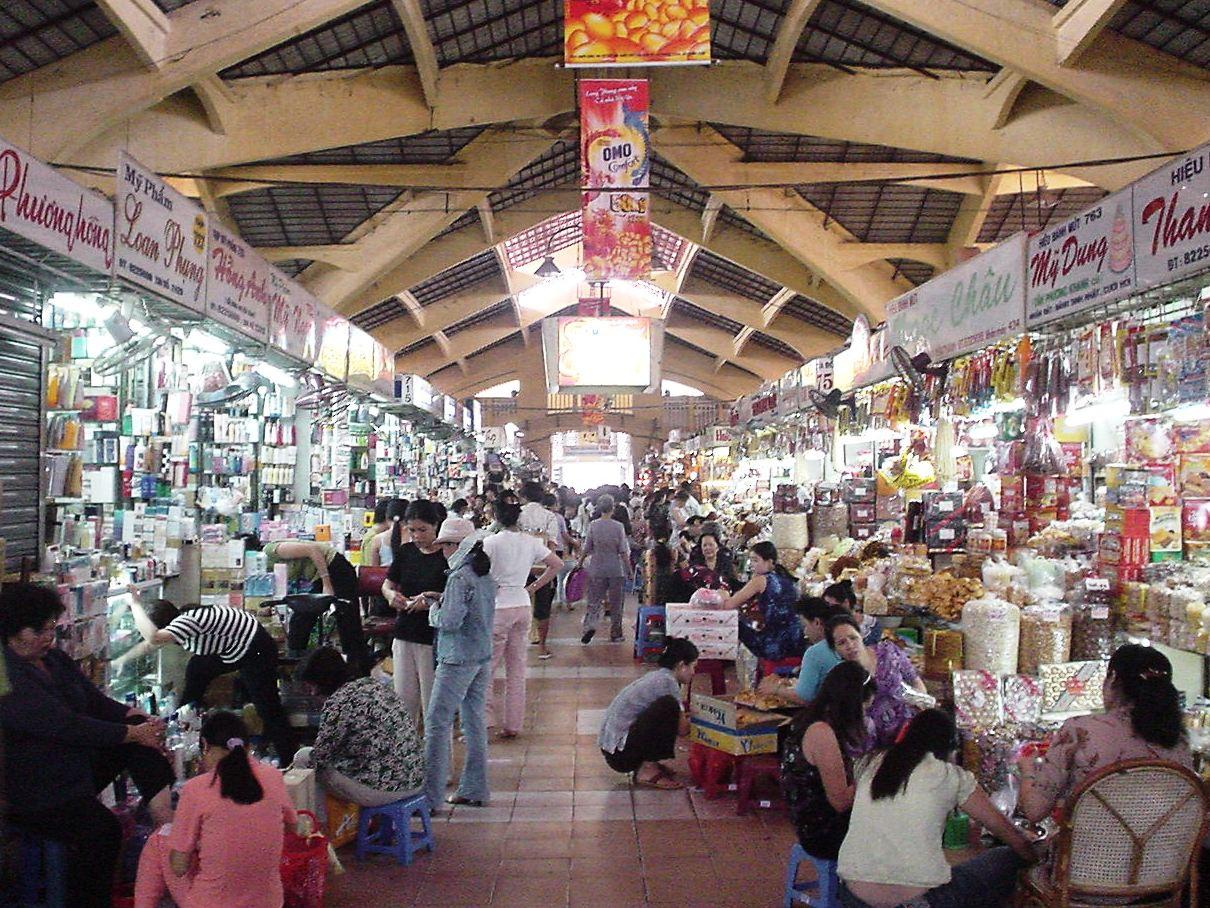 Vietnam Shopping-Ben Thanh Market