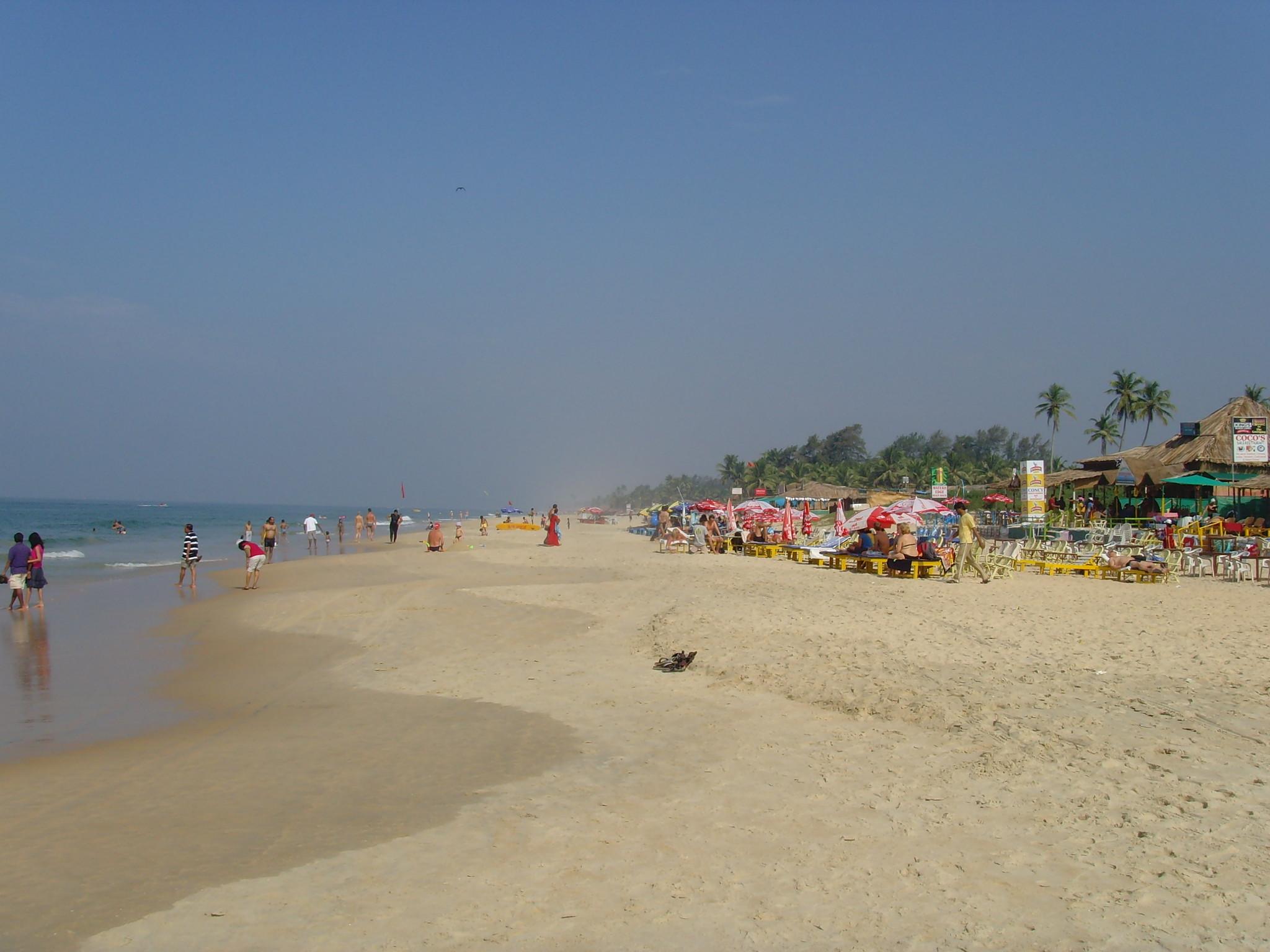 Quaint Beache in South Goa - Benaulim Beach