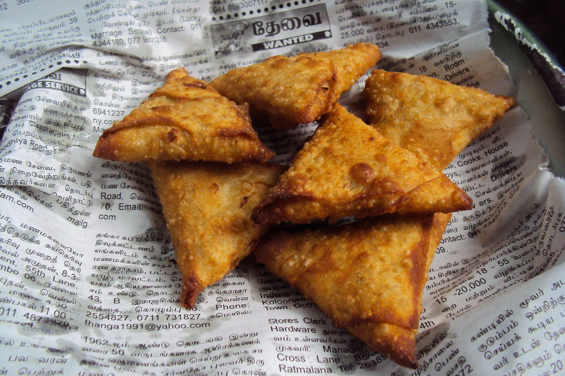 Bera Samosa Centre Street Food To Try When in Ahmedabad