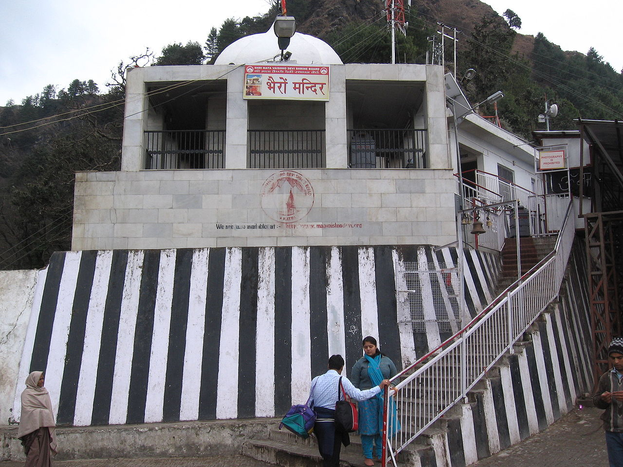 Top Place To See In Vaishno Devi-Bhairavnath Temple Vaishno Devi