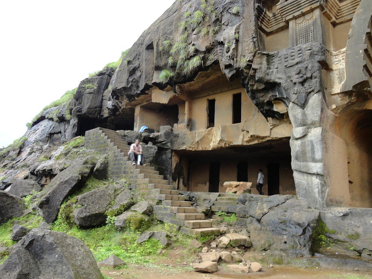 Must Visit Place Near Korigad Fort-Bhaja Caves
