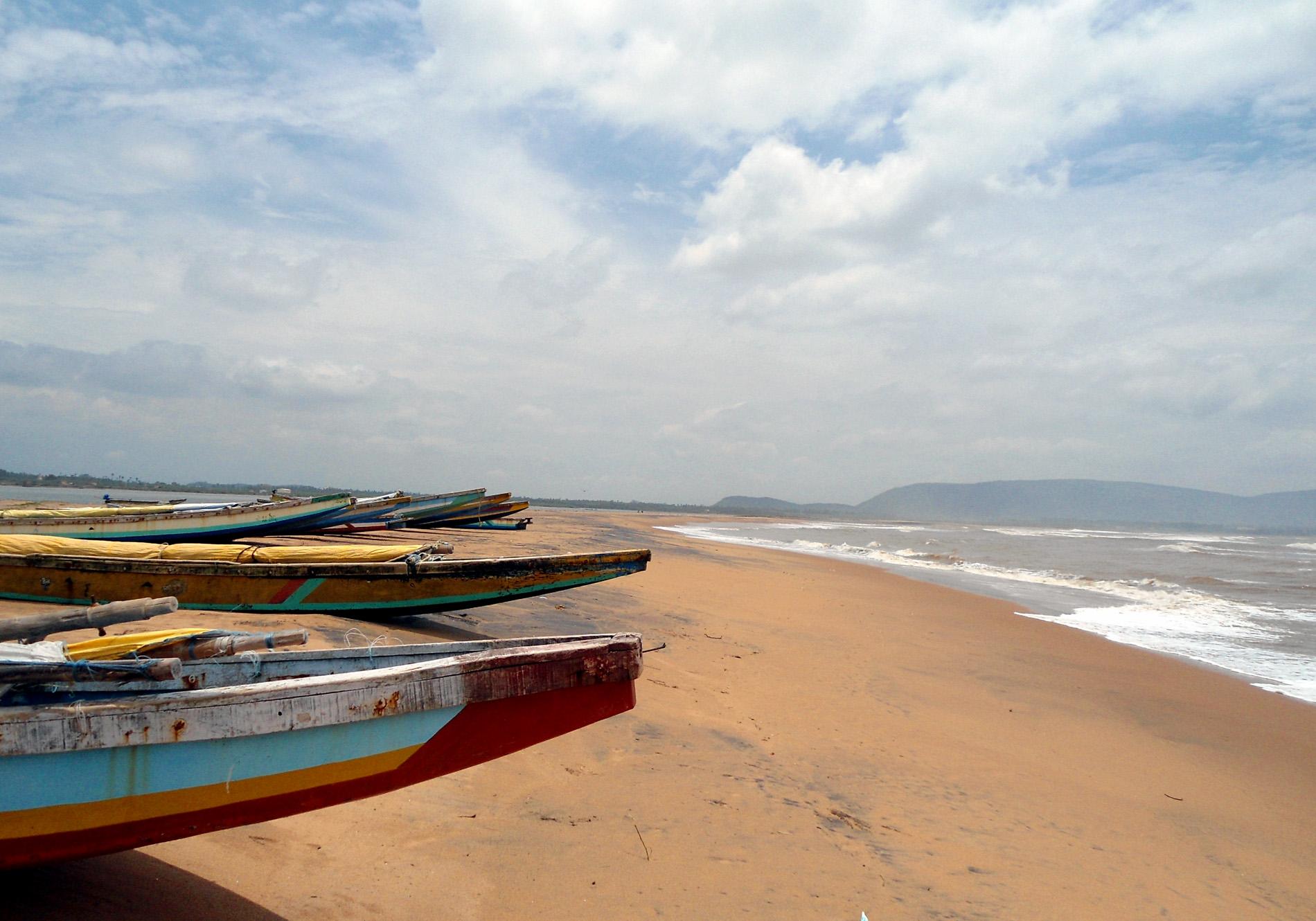 Top Beach in Vizag-Bheemili Beach