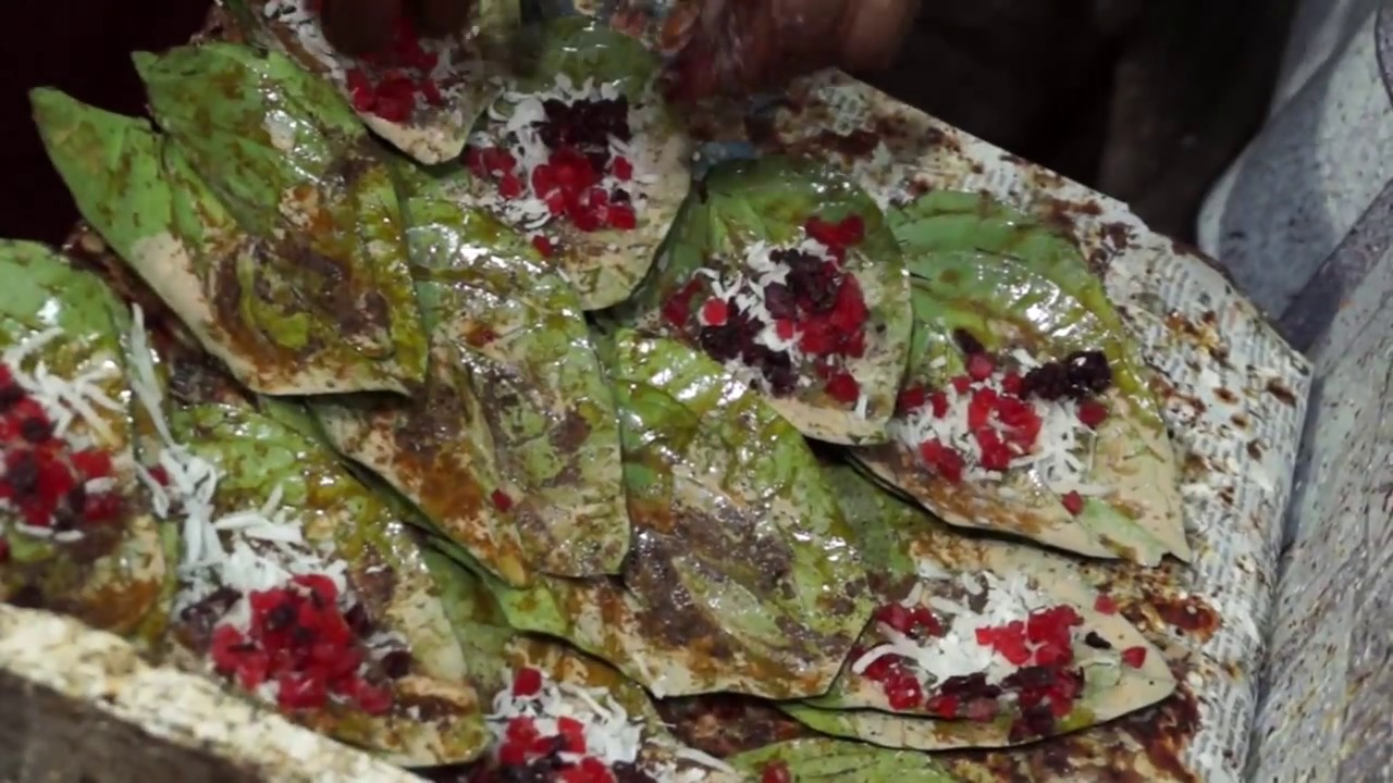 Bhopali Paan- Top Dish To Try in Bhopal