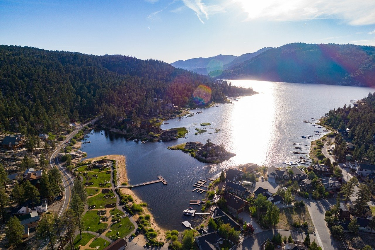 Famous Destination in California for Road Trips-Big Bear Lake, San Bernardino County