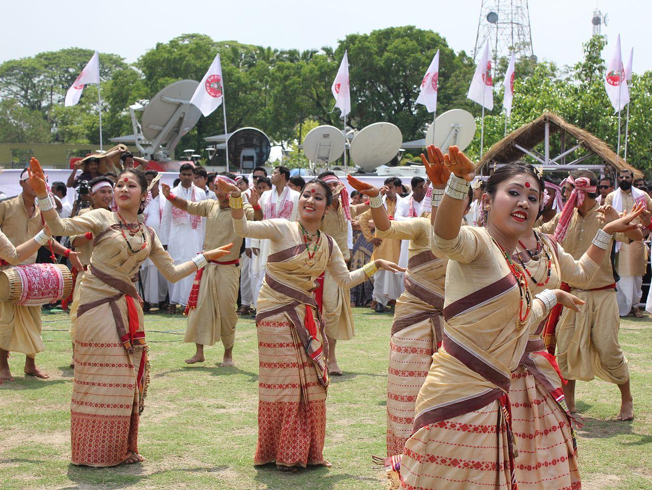 Bihu Dance Festival - Popular Festival Celebrated In Assam