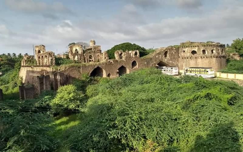 Bijapur Fort in Bijapur, Karnataka