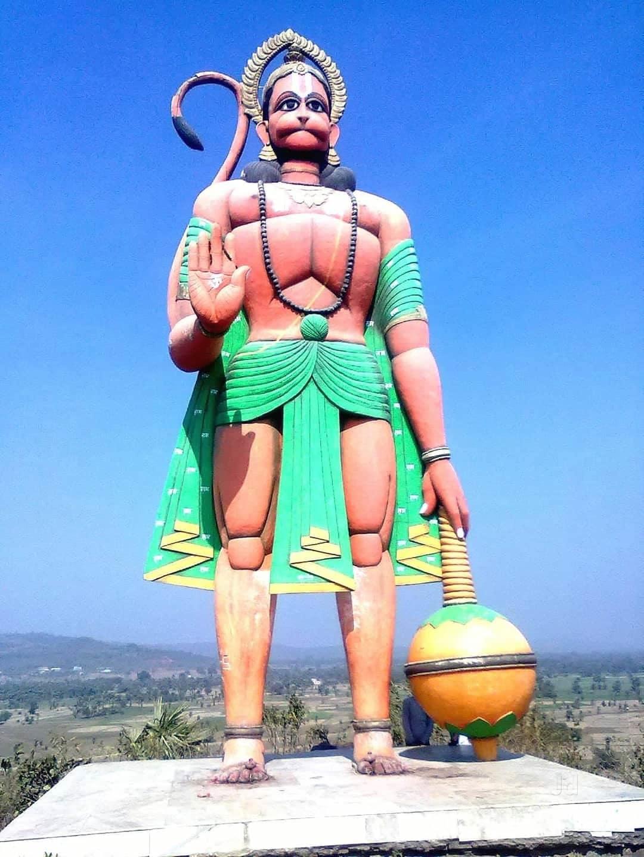 Bindudham or Binduwasini temple in Jharkhand Travel Guide-Massive Statue of God Hanuman