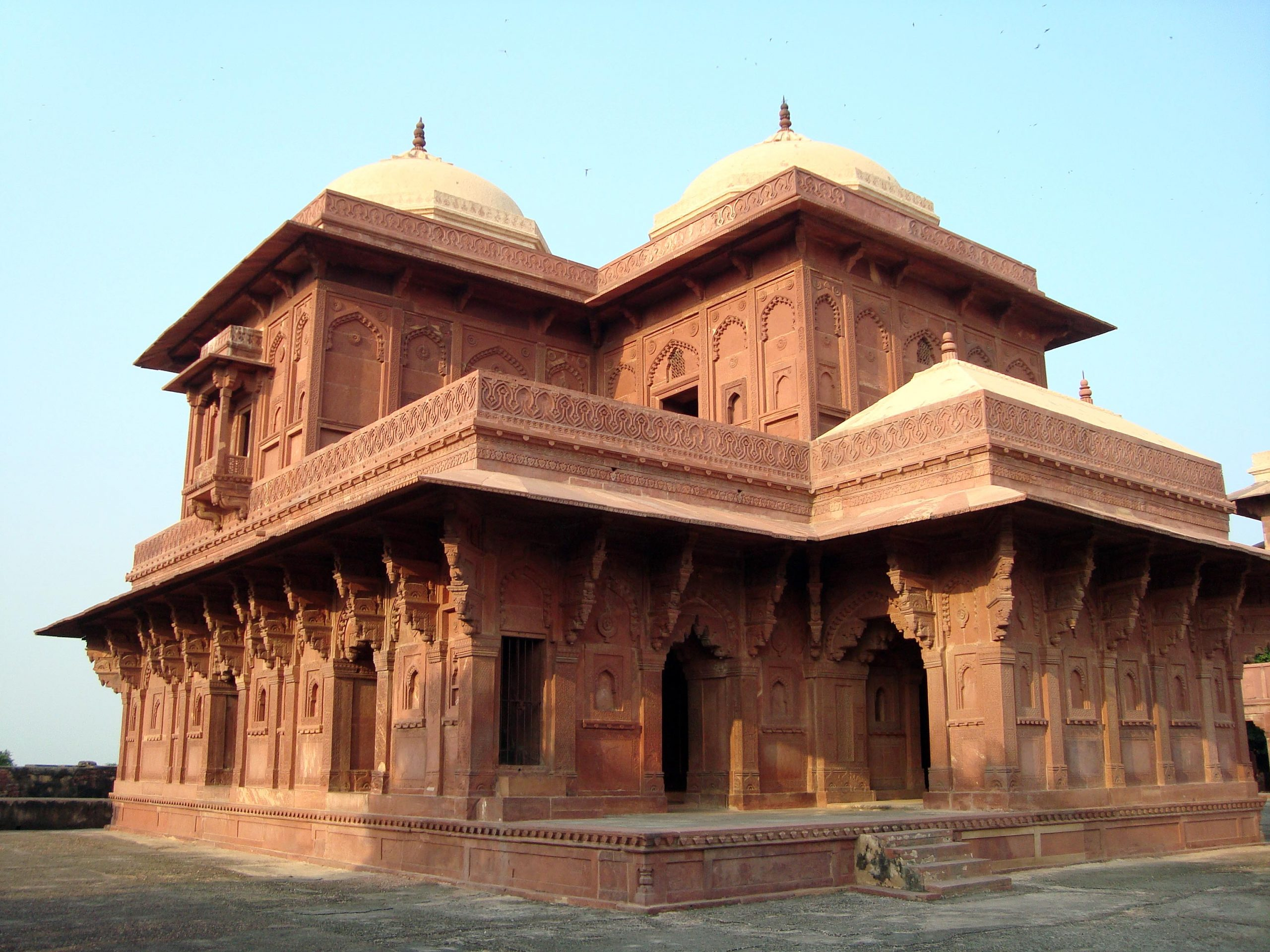 Best Visiting Place in Fatehpur Sikri-Birbal's Palace