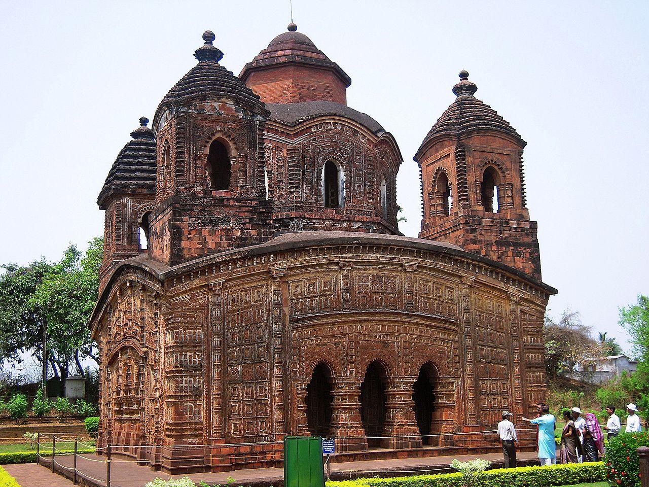 Popular Destination To Visit Near Kolkata-Shyam Rai Temple, Bishnupur