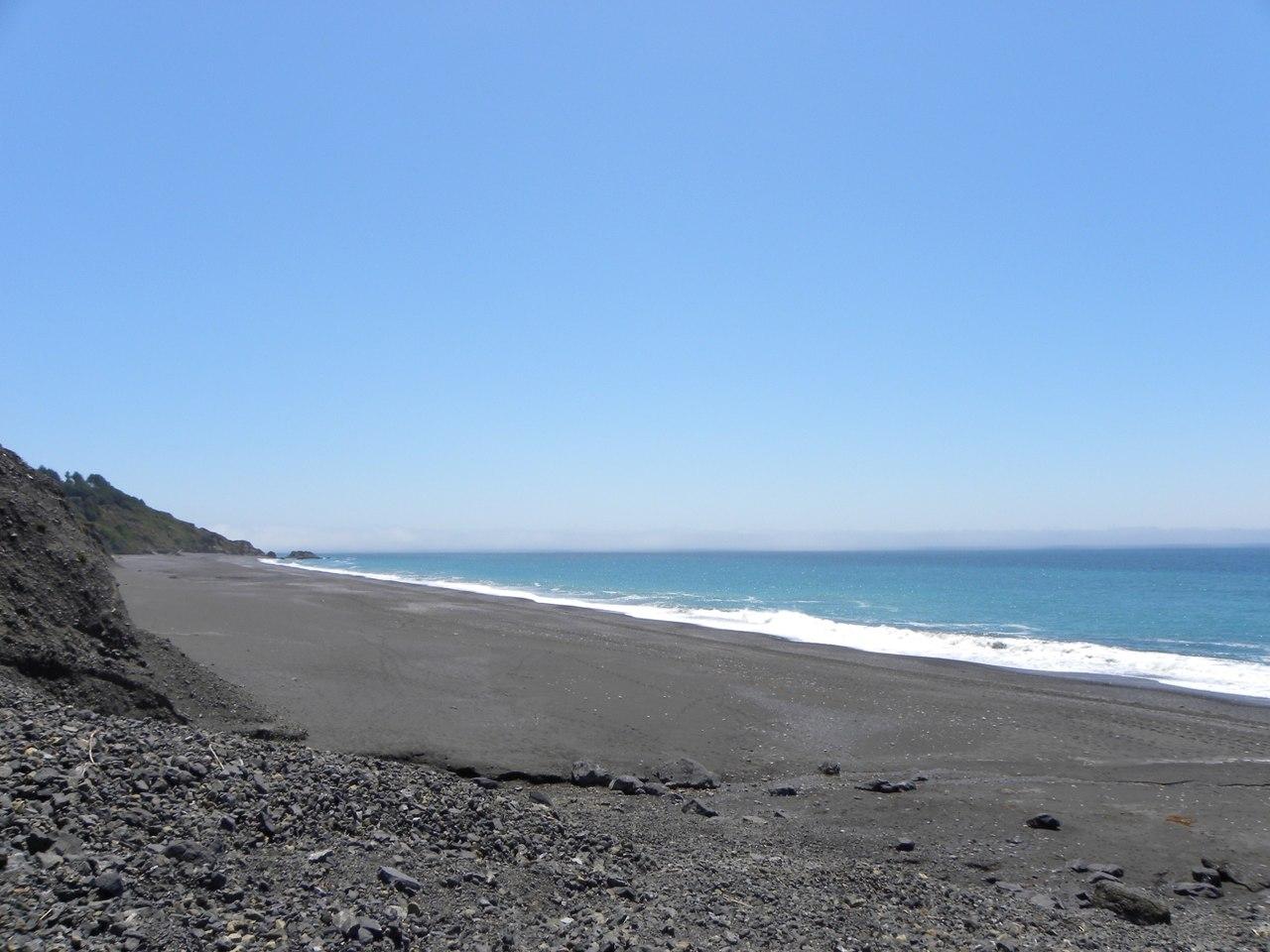 Top Beach Spot in California-Black Sands Beach, Shelter Cove