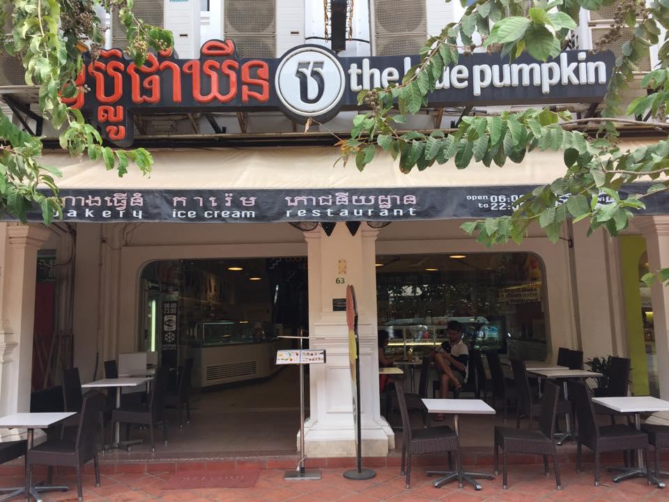 Blue Pumpkin Best Restaurants in Cambodian