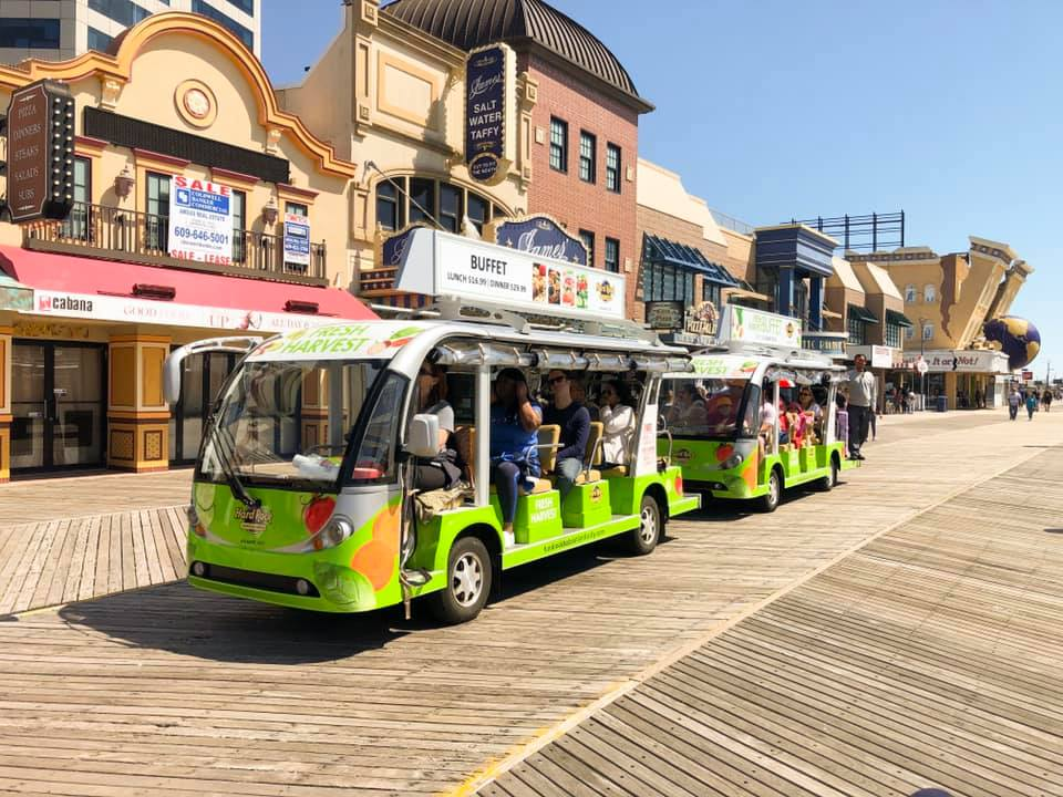 Atlantic City-Have A Glimpse Of Some Magnificent Views From The Boardwalk Tram