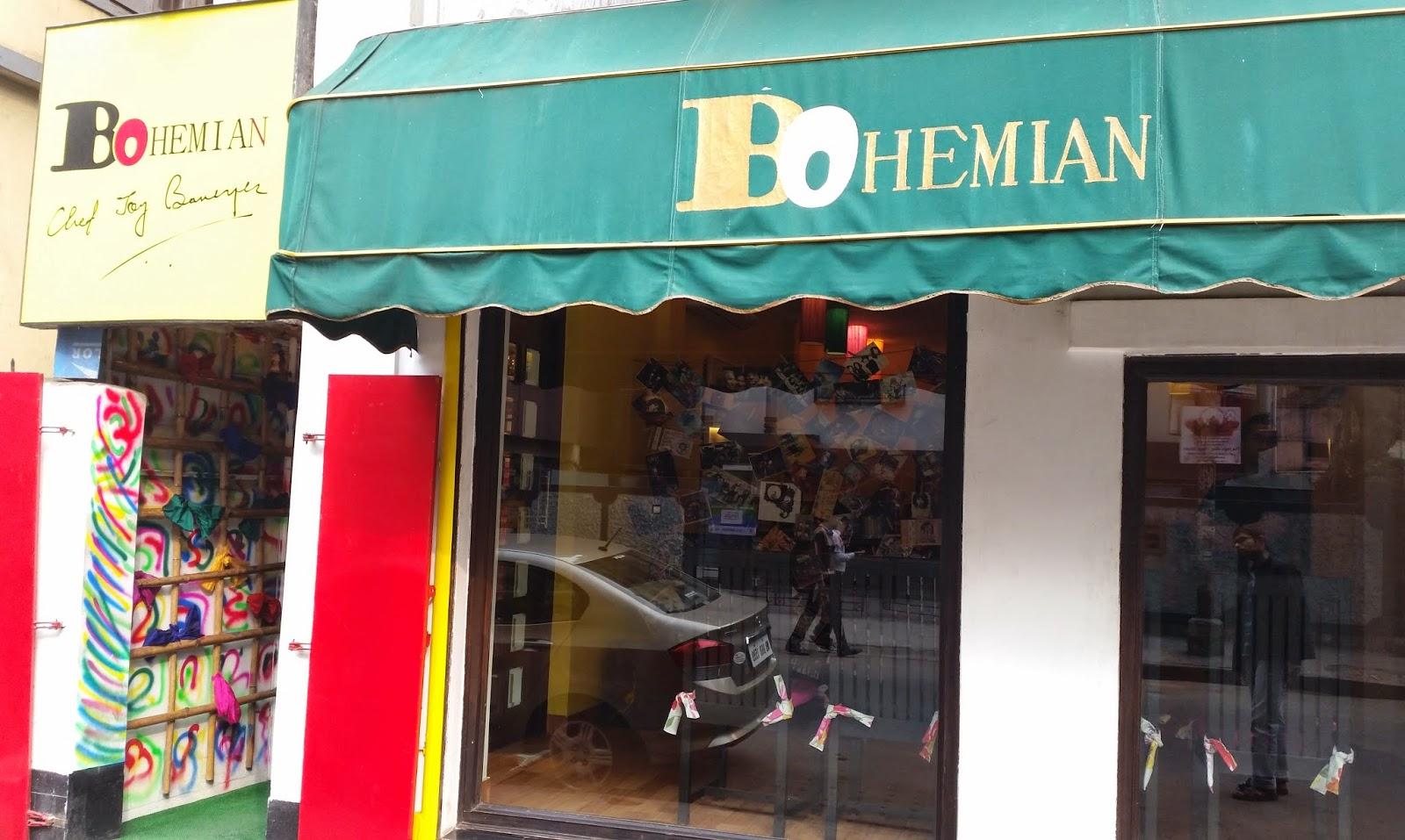 Bohemian - Restaurants In Kolkata That Every Tourists Must Visit