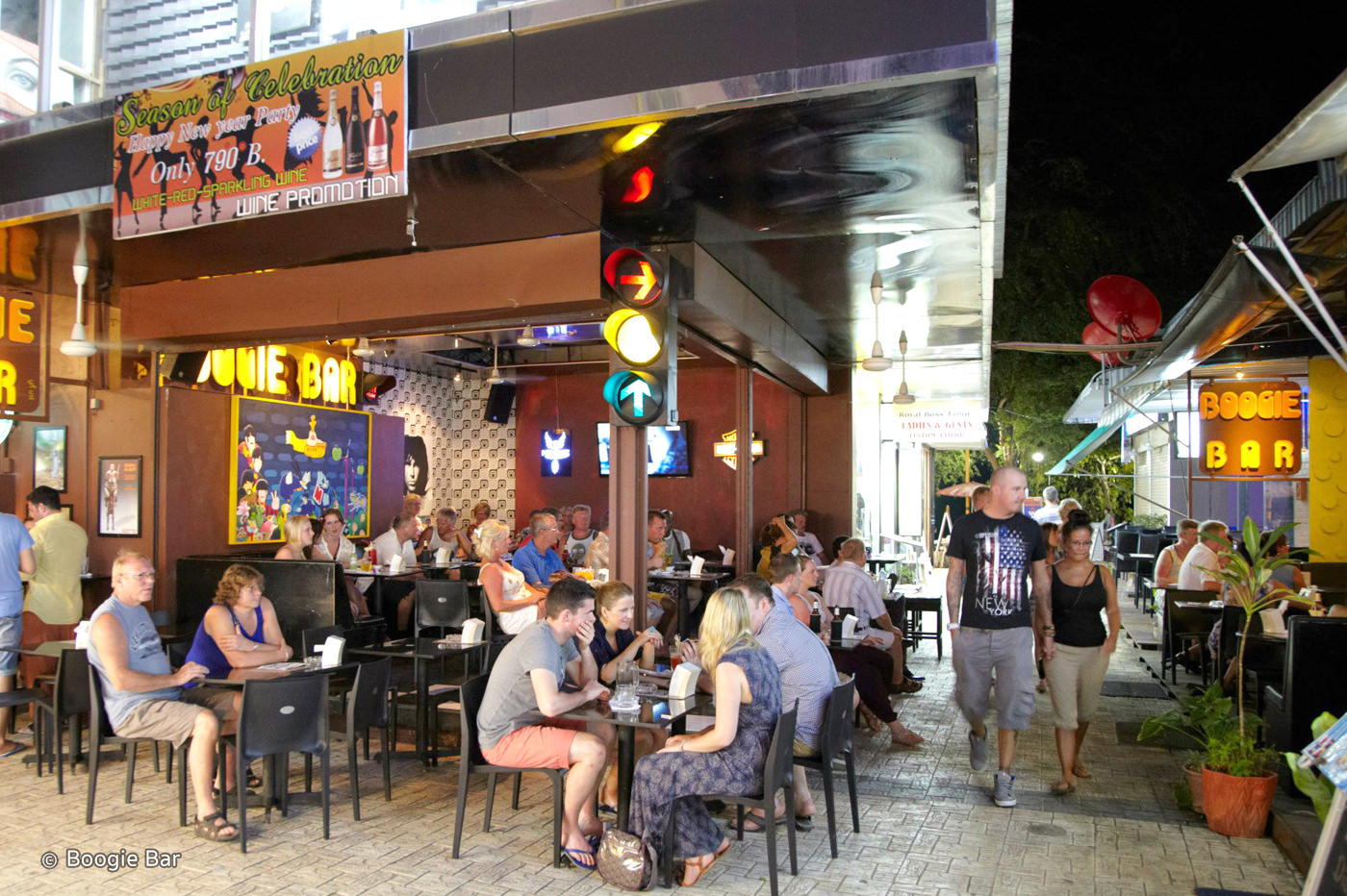 Best Nightlife Spot In Krabi-Boogie Bar, Ao Nang Beach