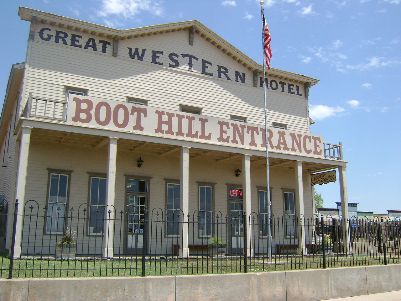 Beautiful Place to Visit In Kansas-Boot Hill