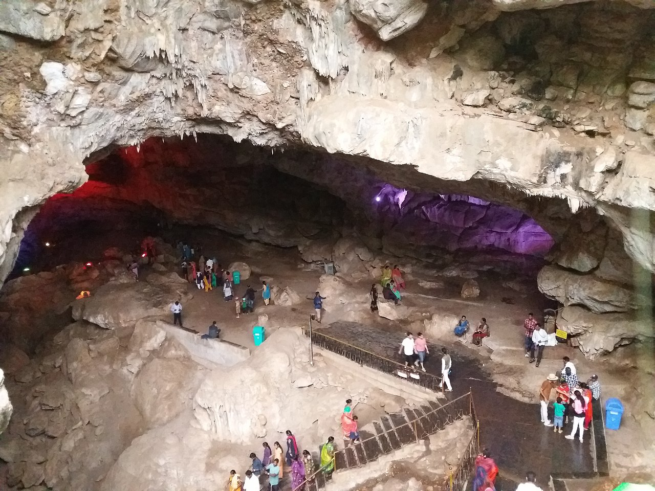 Borra Caves or Borra Guhalu in Araku Valley, Vishakhapatnam