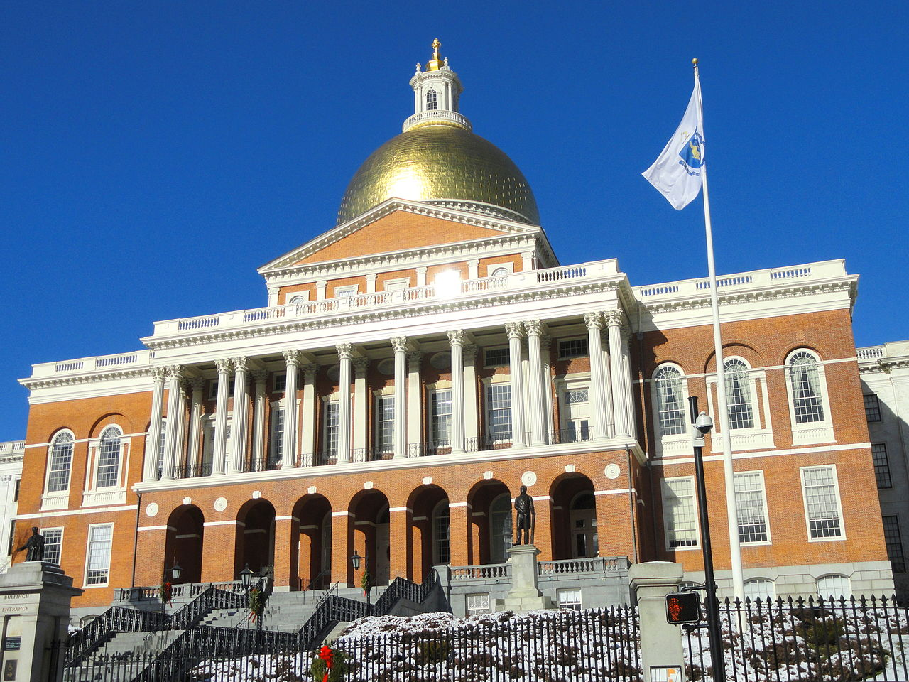 Best Place For Kids Visit In The USA-Boston, Massachusetts State House