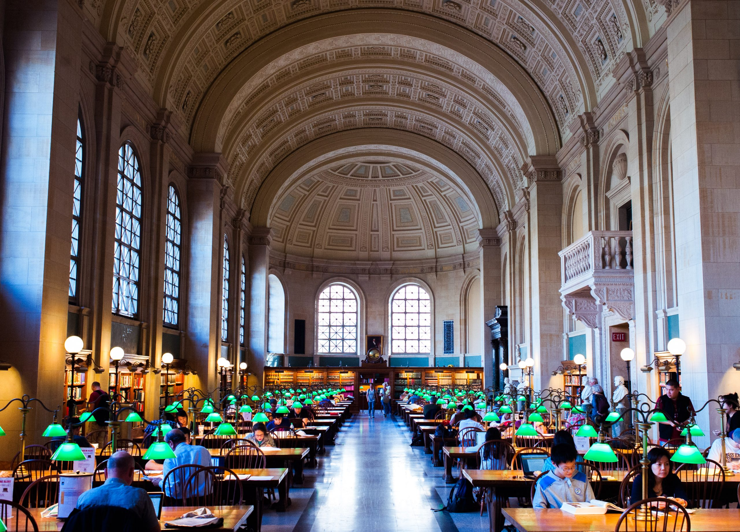 Best Place to See In Boston-Public Library