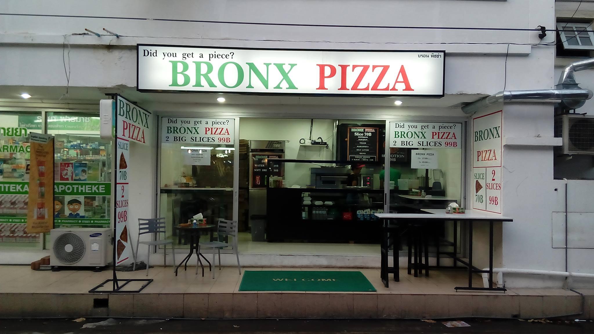 Nice Restaurant of Pattaya-BRONX Pizza