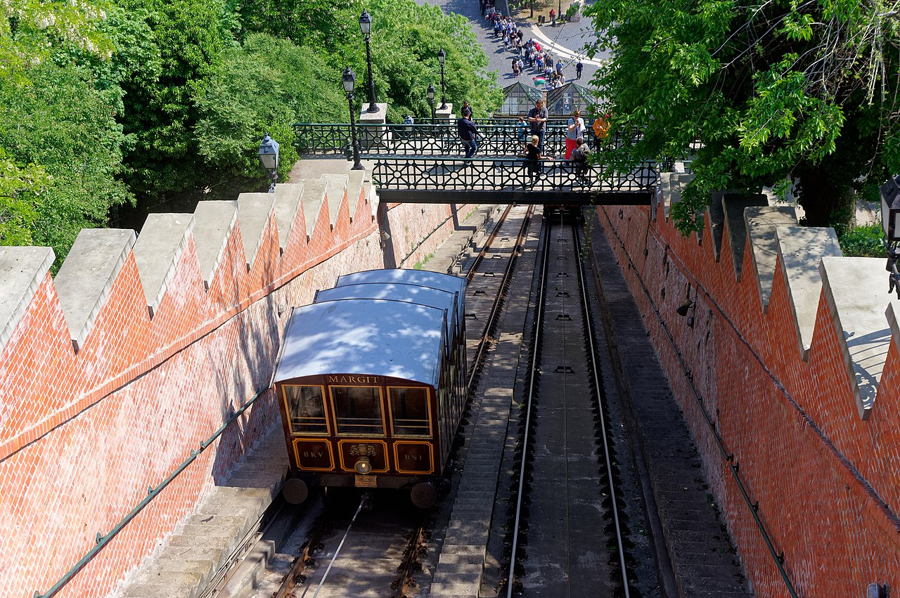 Buda Castle Hill Funicular - Amazing Sight-Seeing Destinations in Budapest (Hungary)