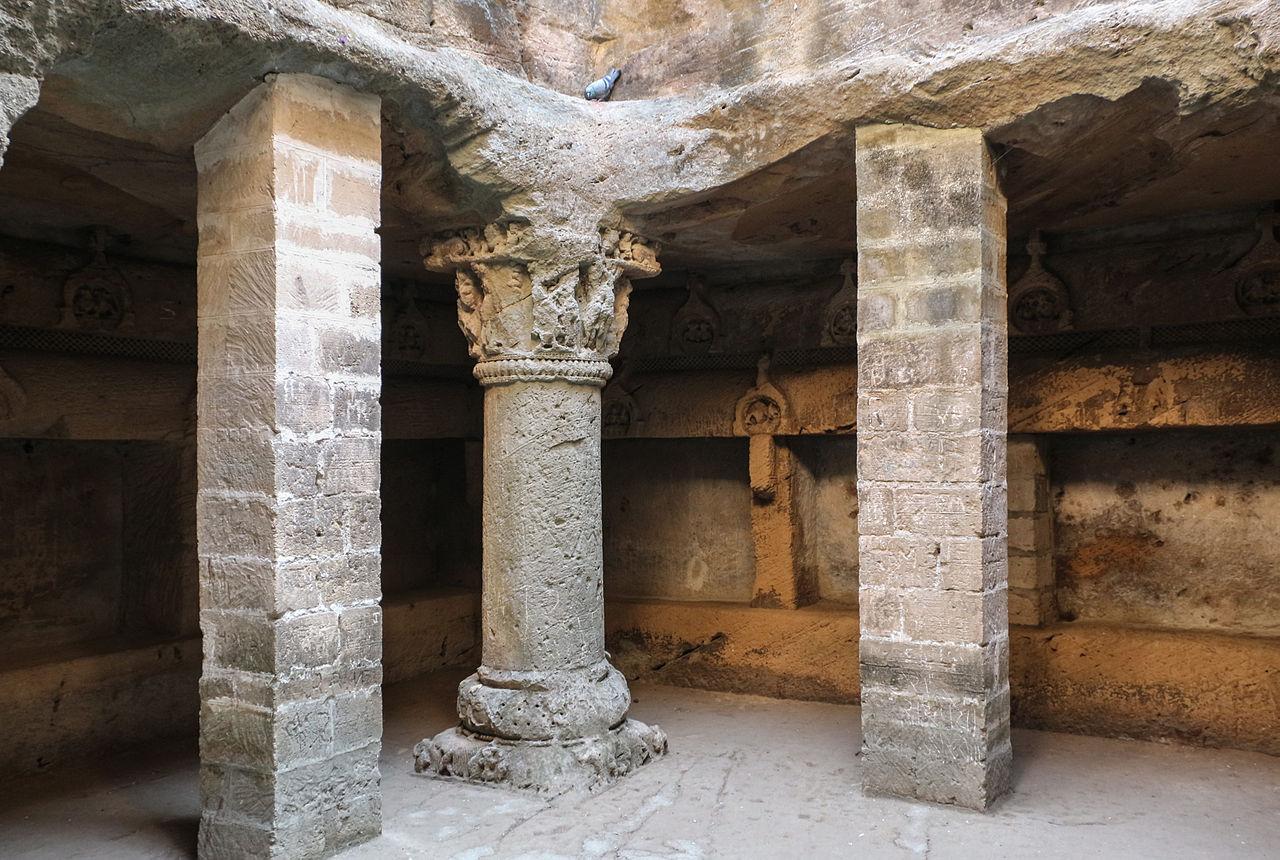 Buddhist Caves in the Uparkot fort, Junagadh, Gujarat