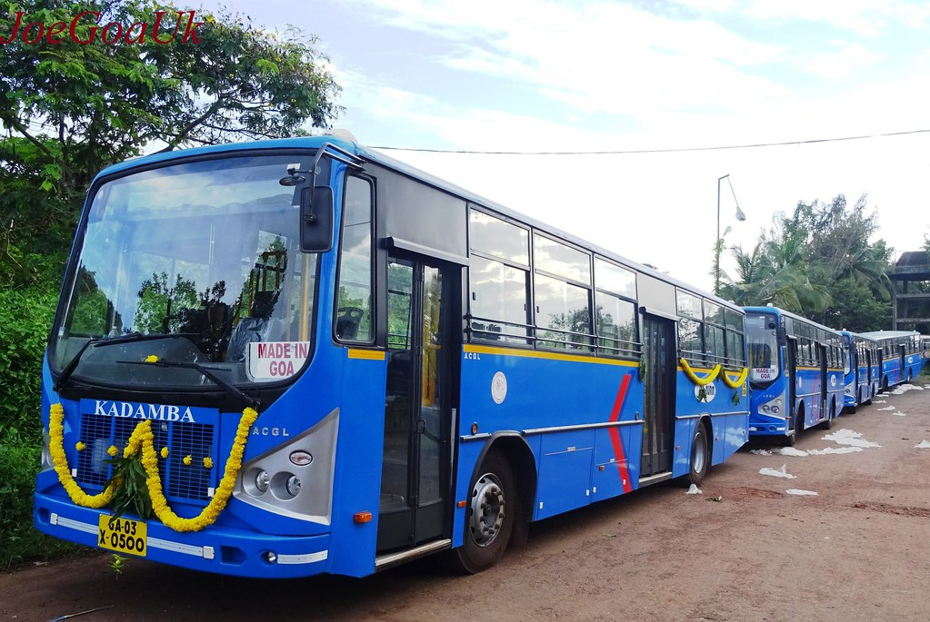Reach Goa By Bus