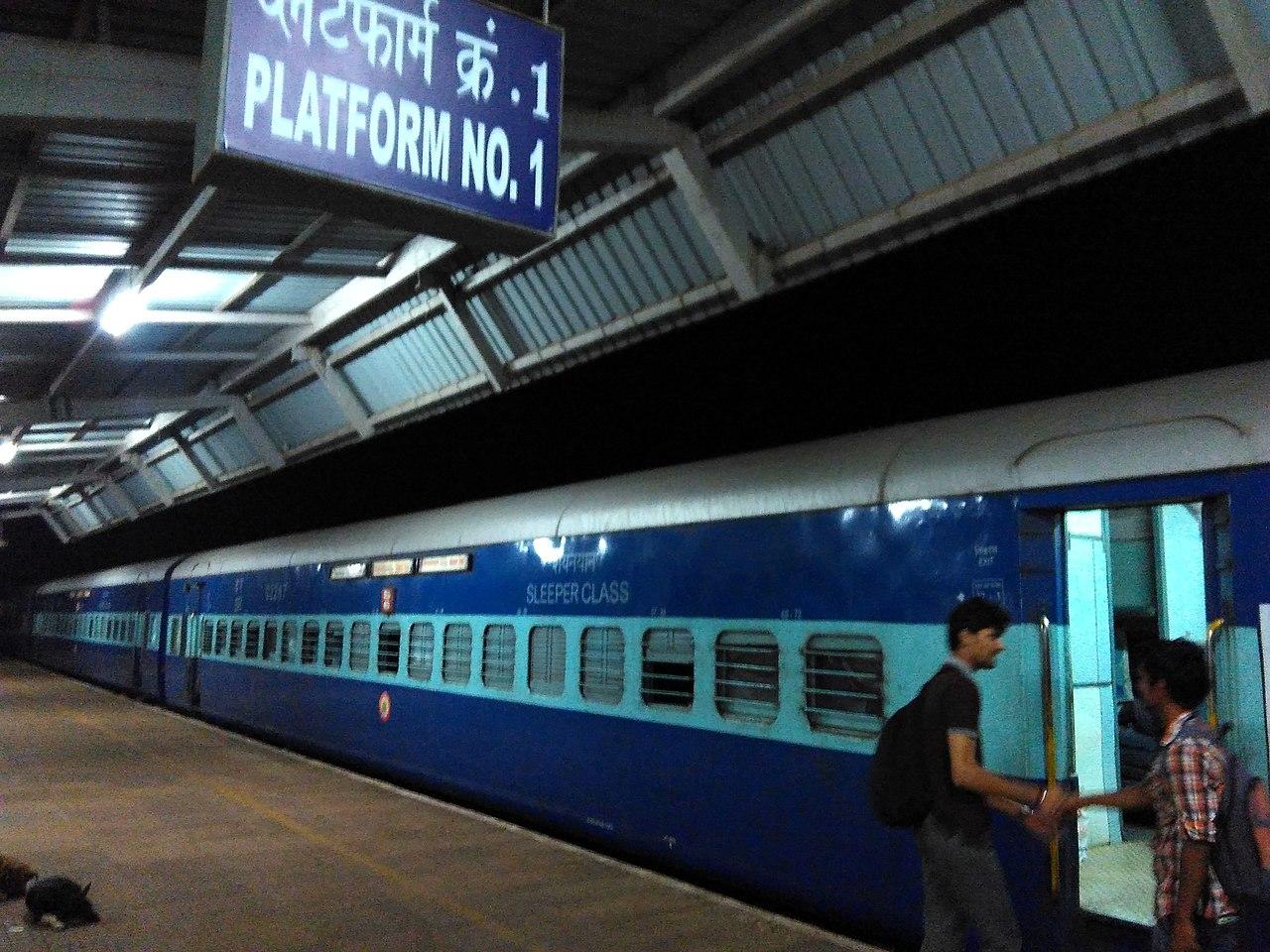 Reach Goa By Train