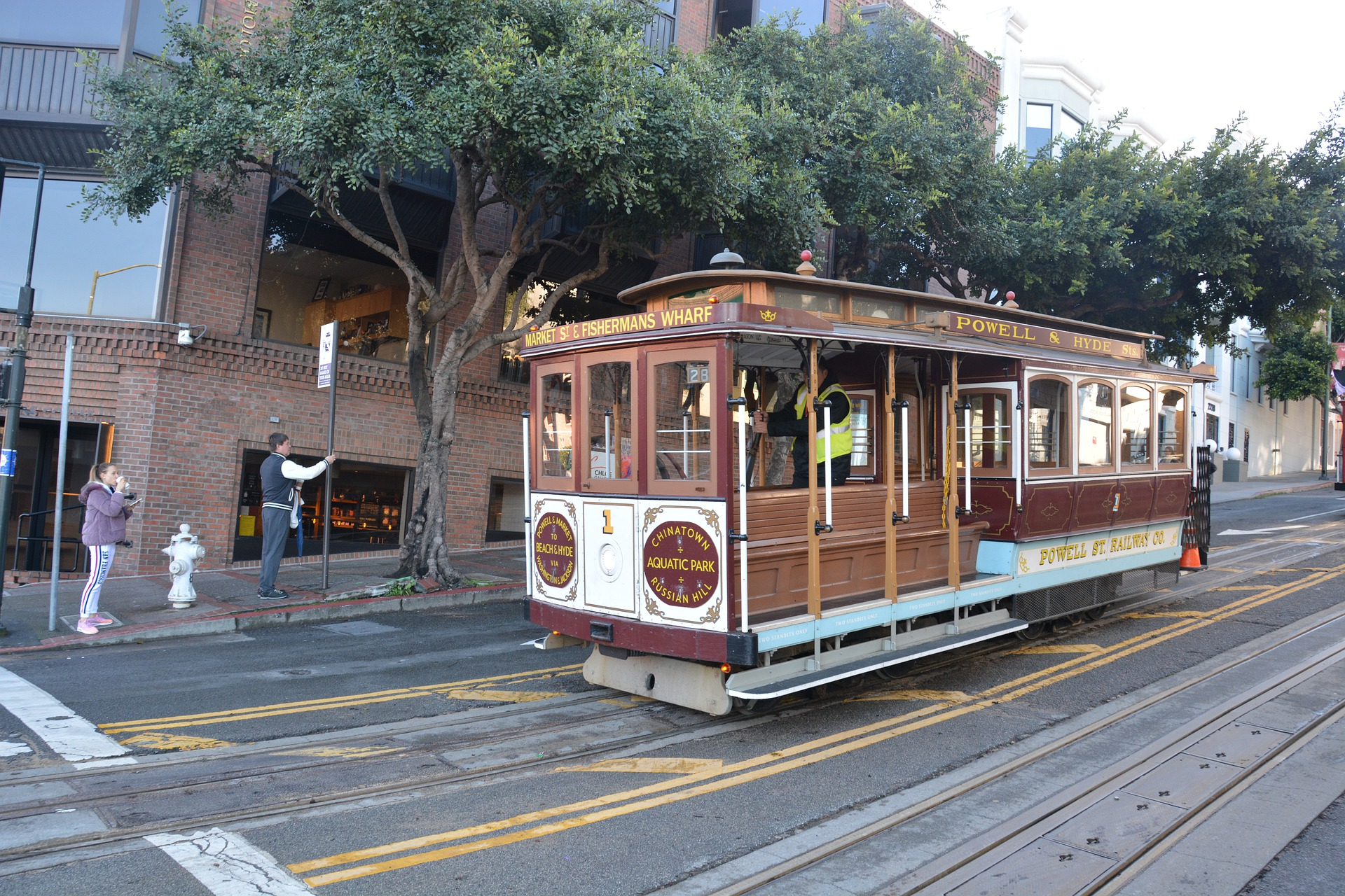 Cable Cars of San Francisco - Every Tourists Must Ride in Cable Car For a Memorable SF Trip