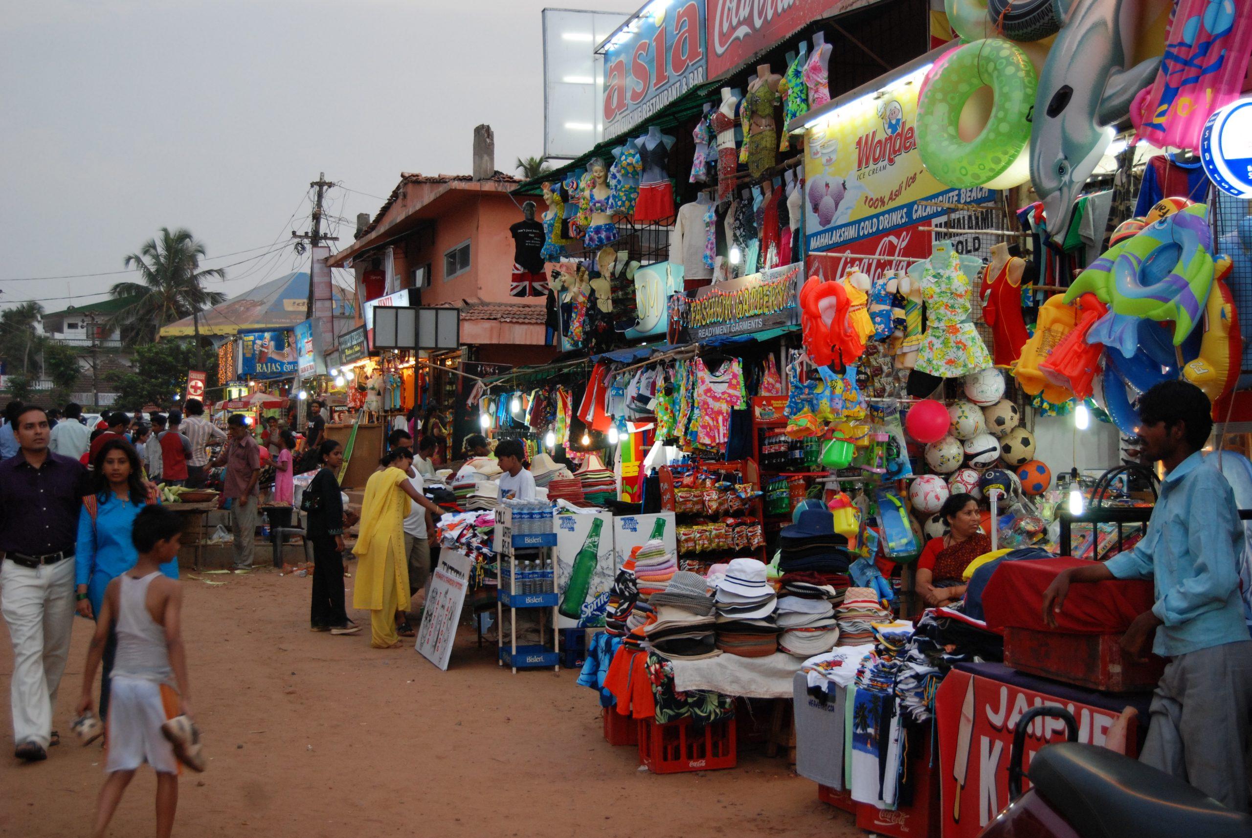 Calangute Market Square - Best Places to Shop in Goa
