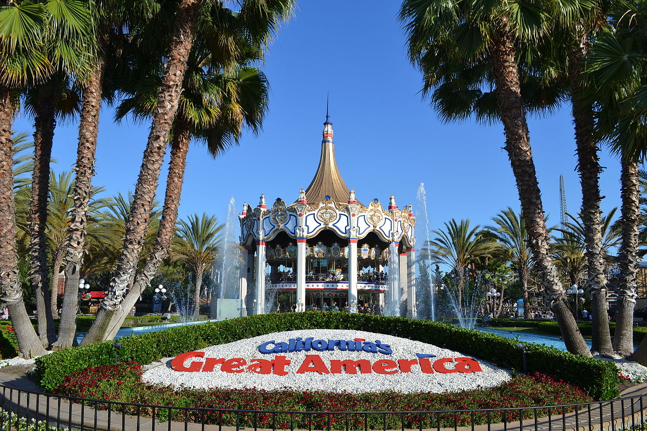 Top-rated Theme Park In California-California's Great America