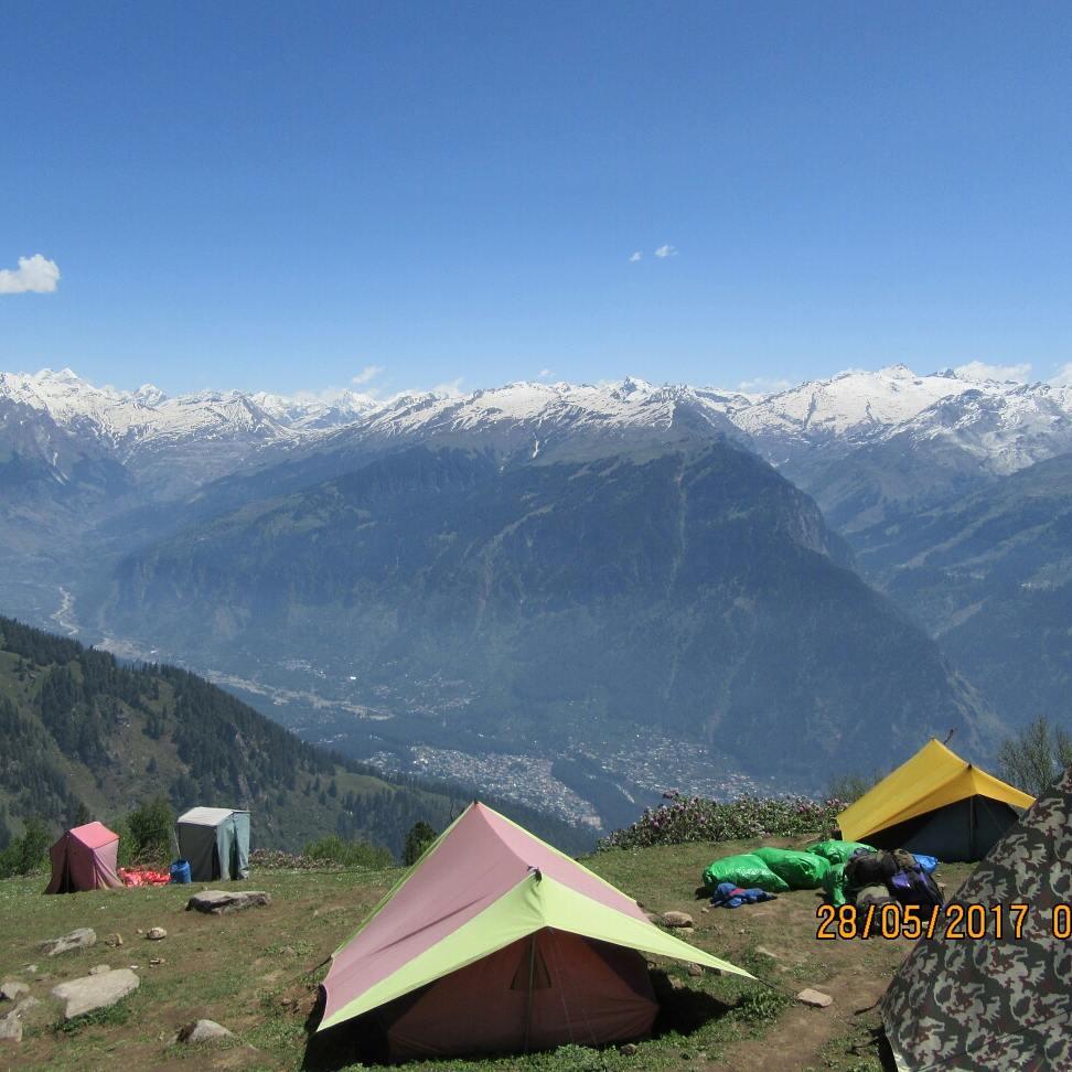 Attraction Destination in Gulaba-Camping, Himachal Pradesh