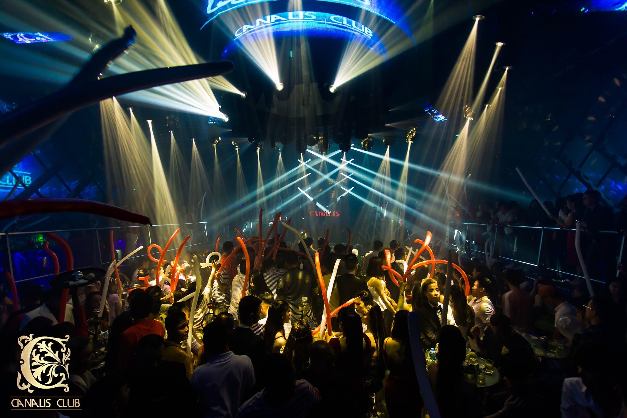 Canalis Club Nightlife in Ho Chi Minh City