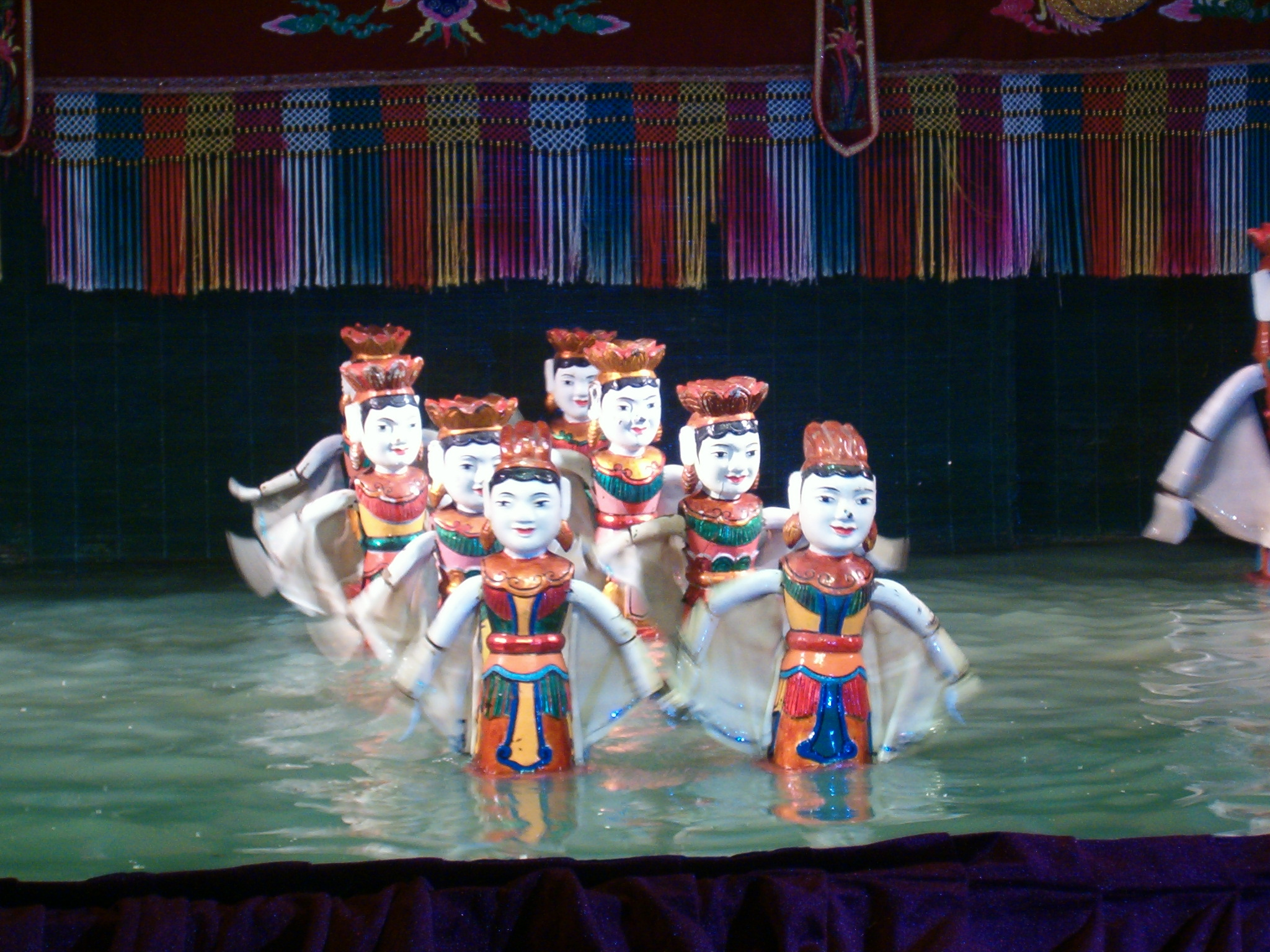 Capture a Performance is the Municipal Water Puppet Theatre in Hanoi