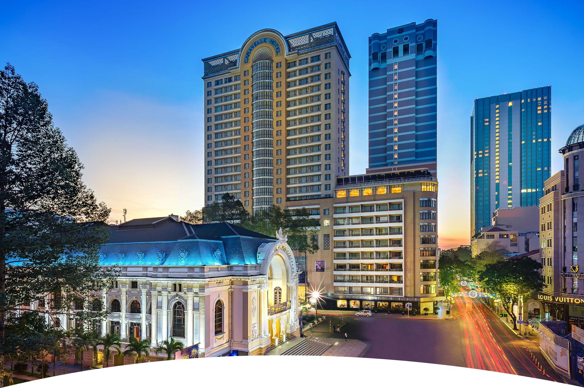 Best Hotel in Ho Chi Minh City-Caravelle Hotel