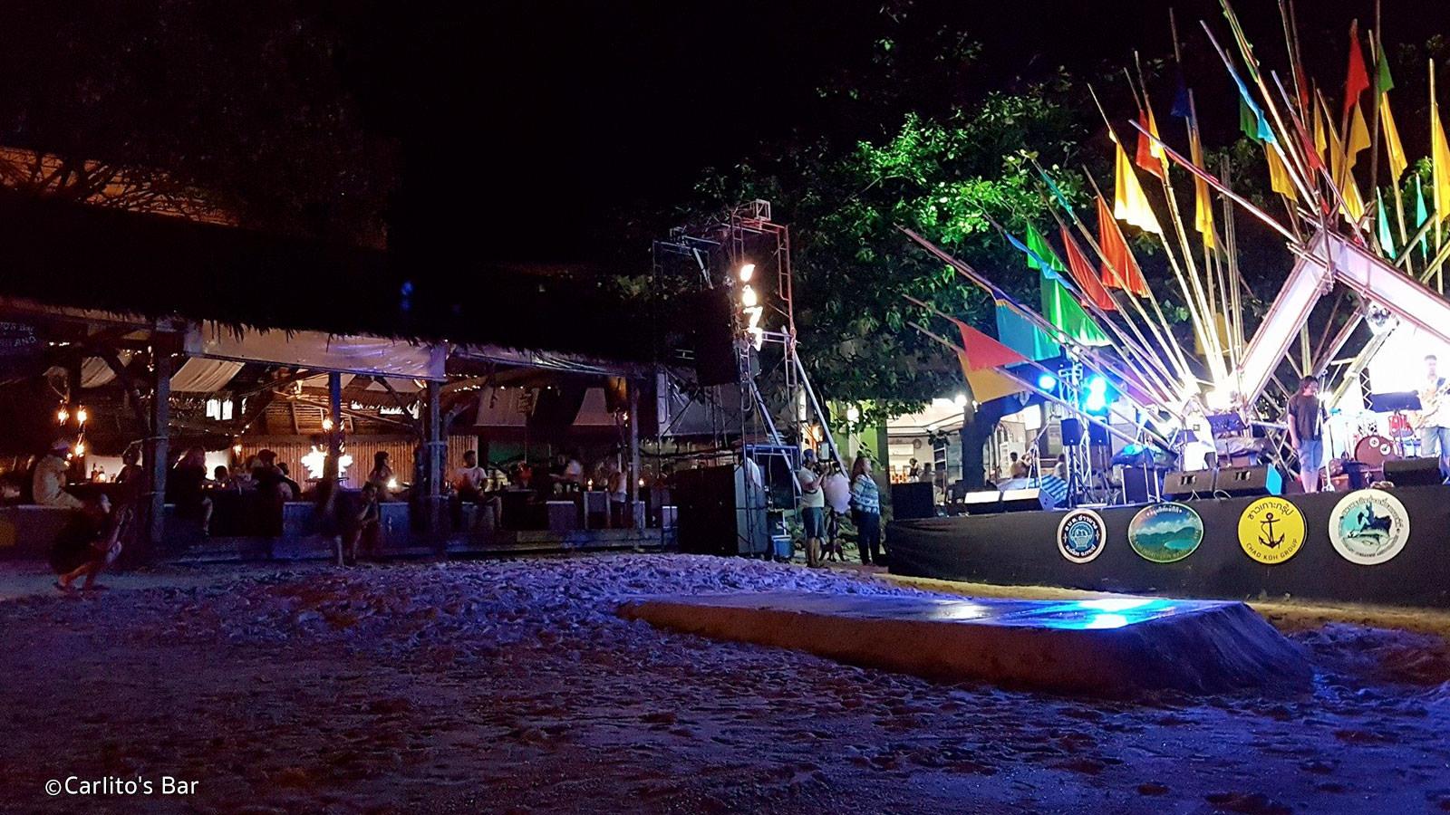 Top Phi Phi Nightlife Place-Carlito's Beach Bar & Night Club