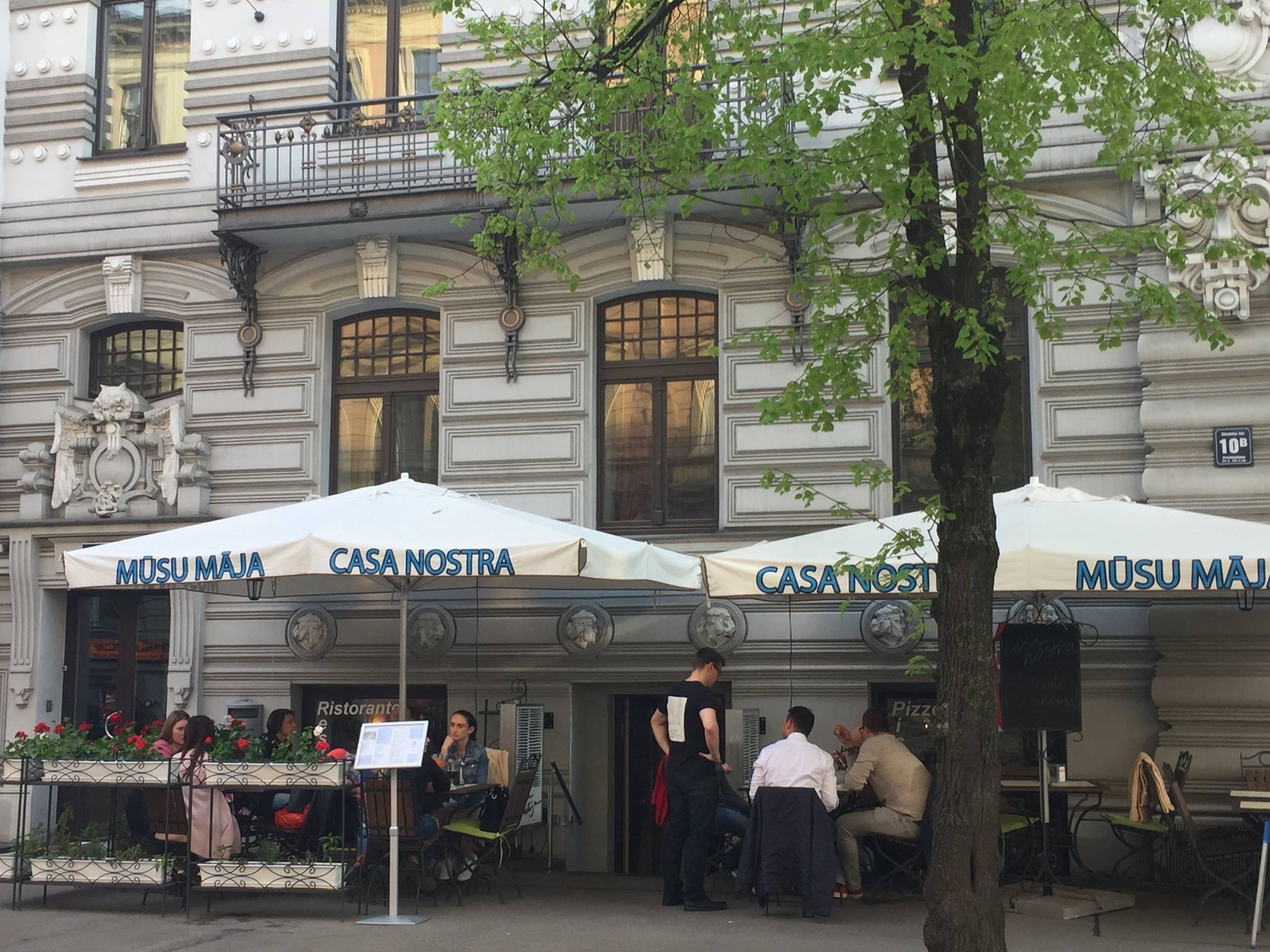 Casa Nostra Restaurant That One Must Try in Riga