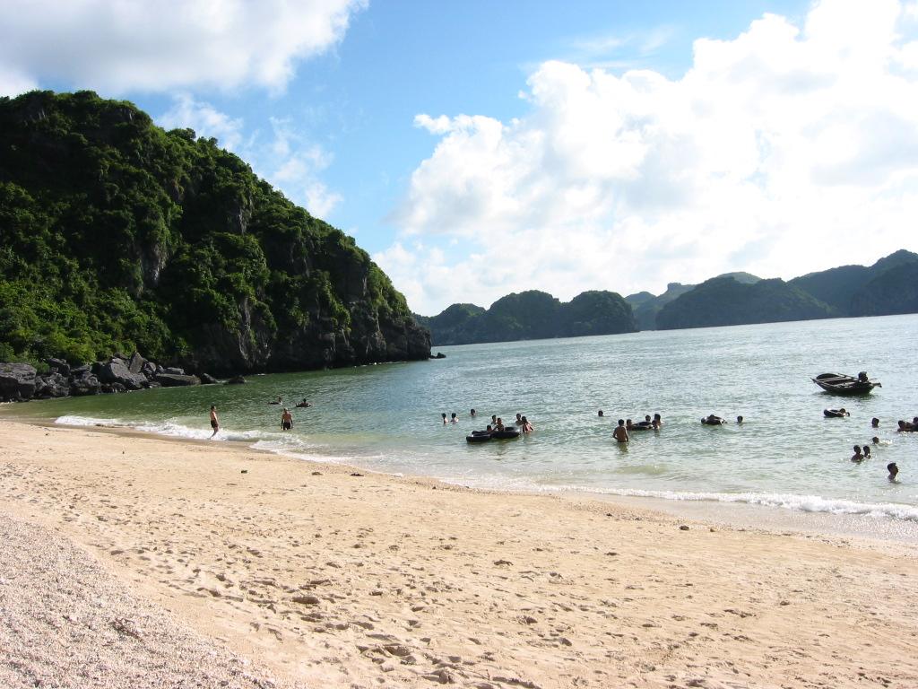 Best Cat Ba Beach in Vietnam
