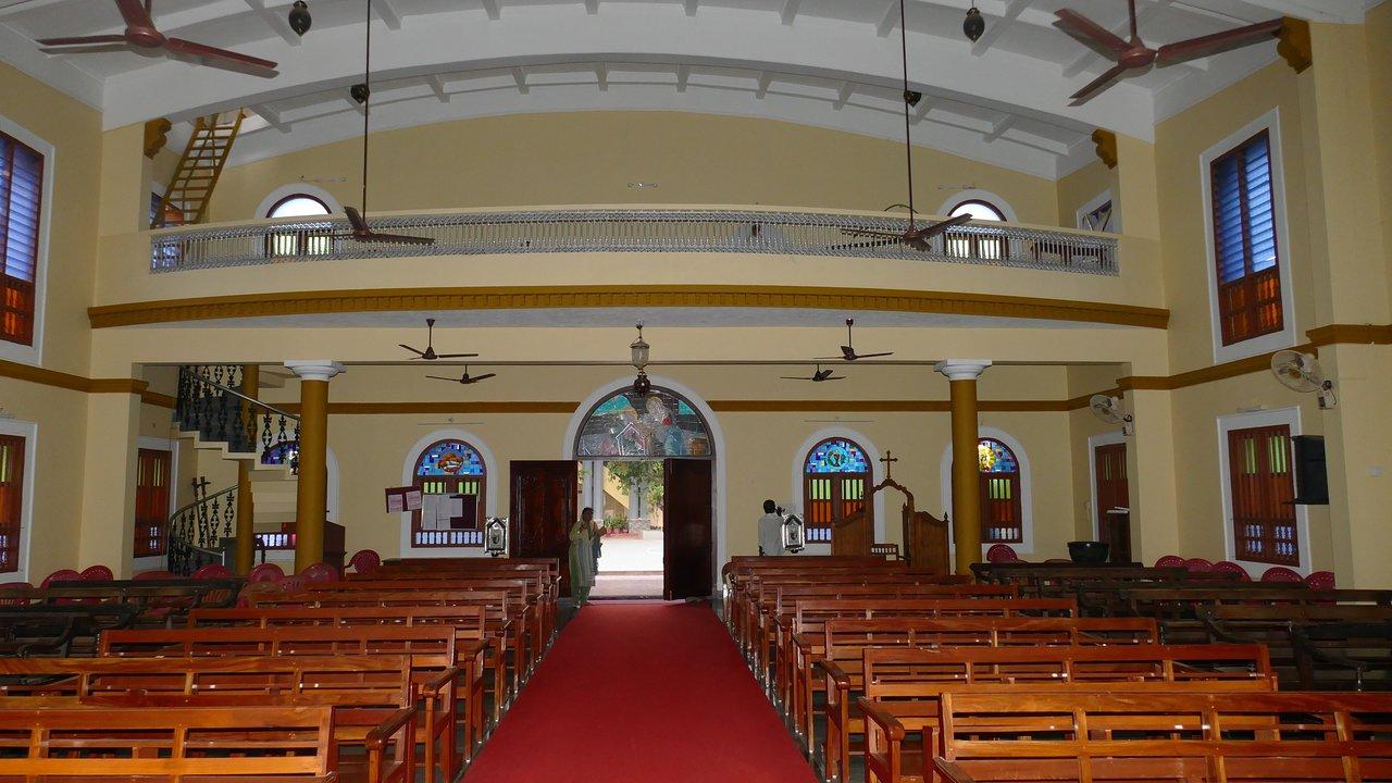 Popular Church in Kerala-Catholic Rosary Church, Thalaserry Tellicherry