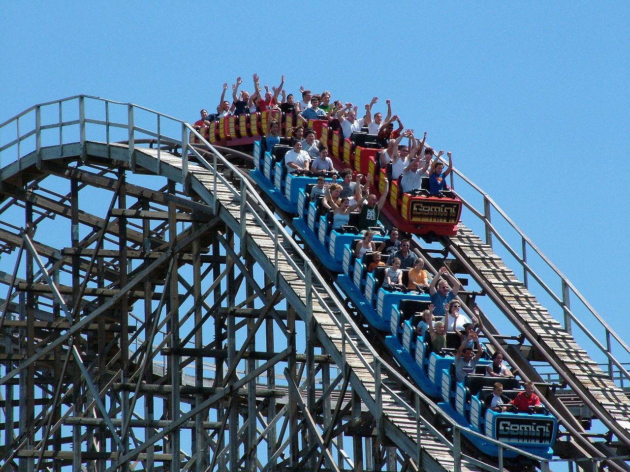 Cedar Point Amusement Park in Ohio