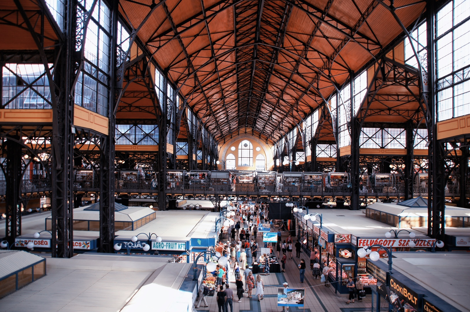 Central Market Hall - Amazing Sight-Seeing Destinations in Budapest (Hungary)