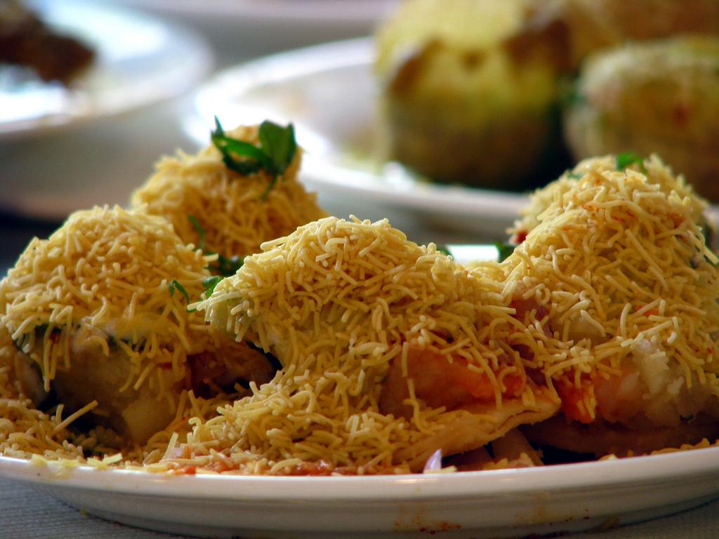 Chaat at Girgaum Chowpatty Must-Visit Street Food Joints in Mumbai