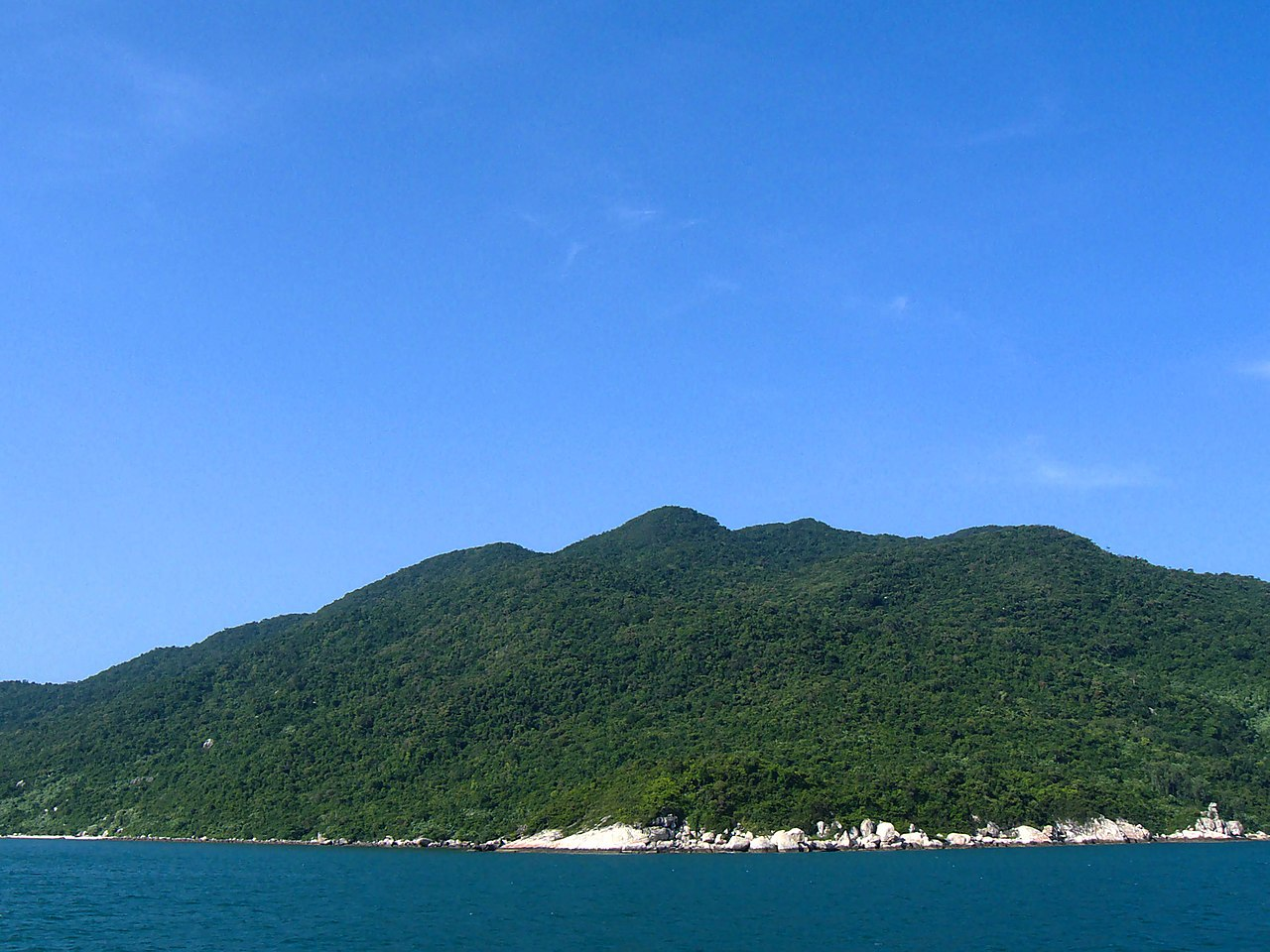 Cham Island in Vietnam