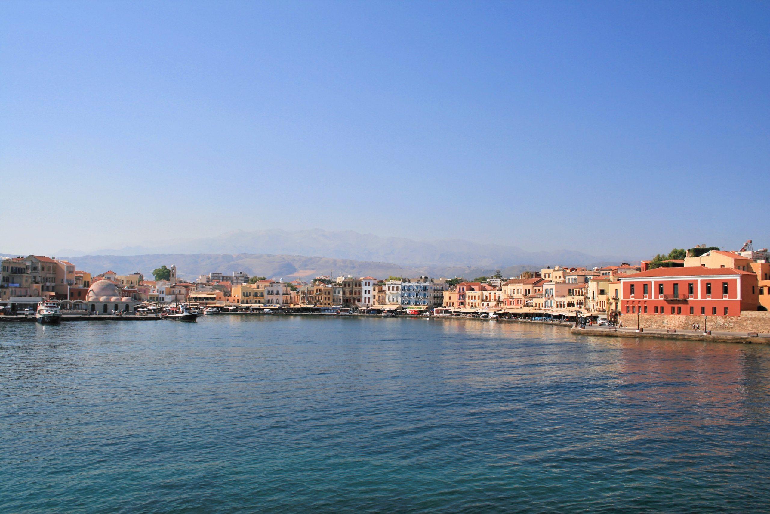 Best Tourist Place To Visit in Crete Islands-Chania's Venetian Harbor
