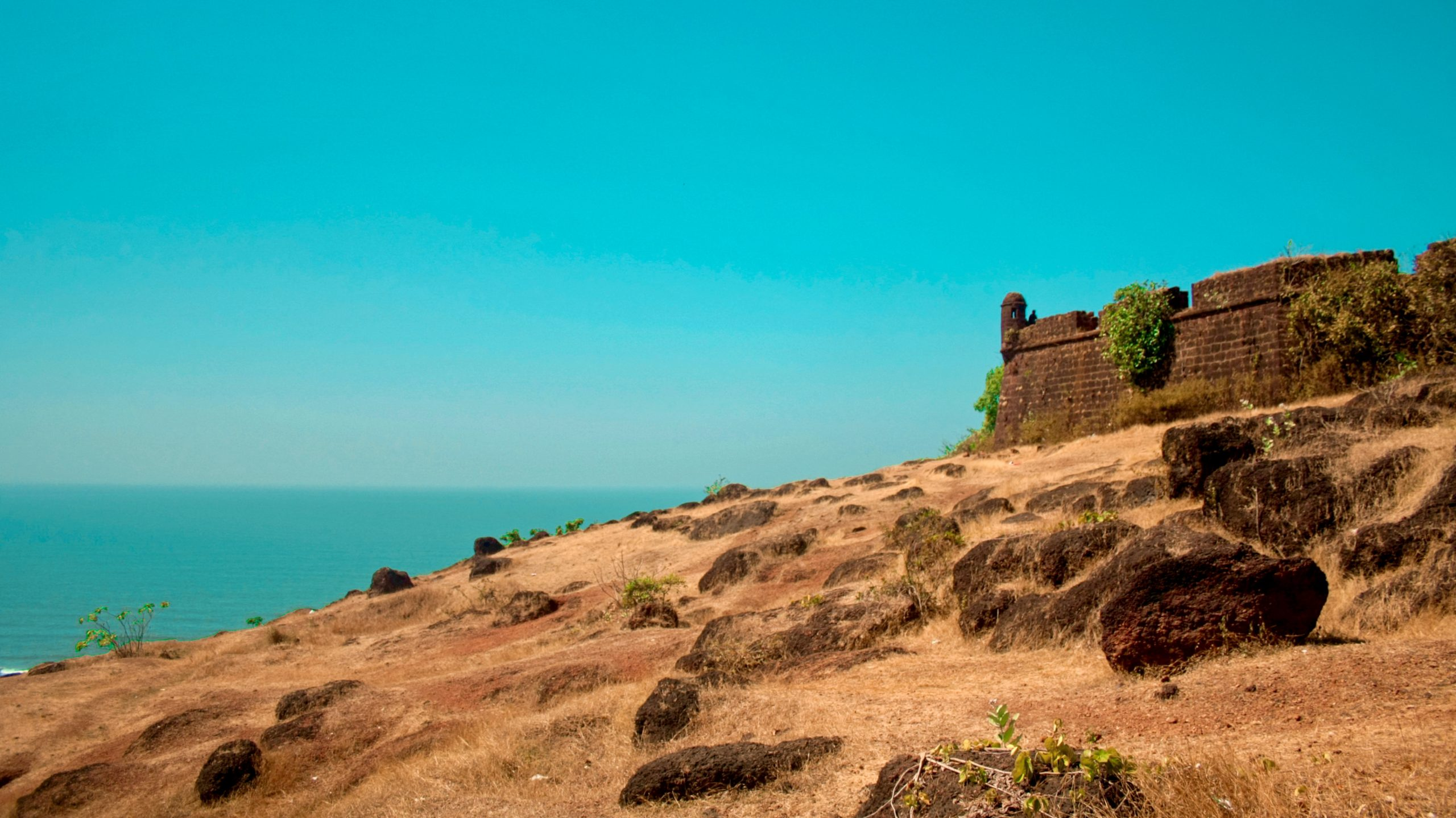 Chapora Fort - Amazing Places to Visit in North Goa
