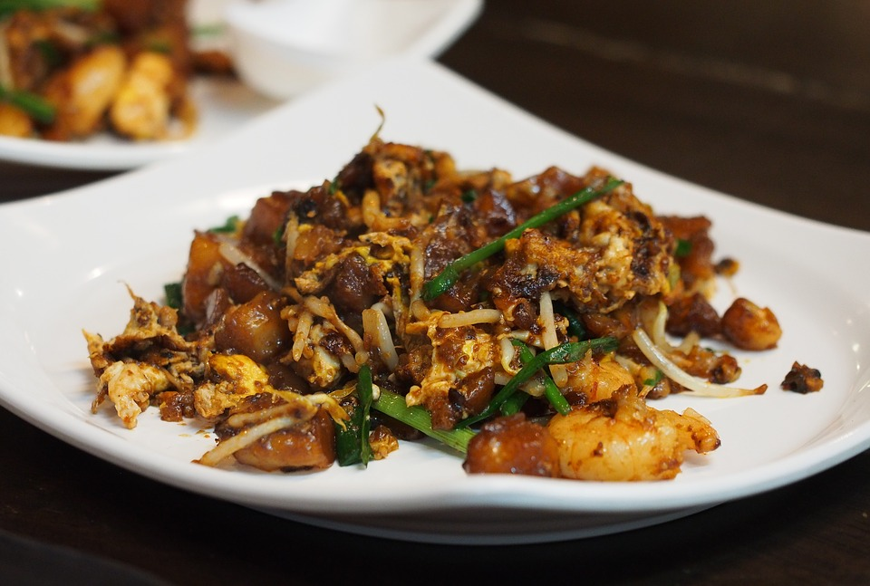Mouth Watering Street Food Dish of Singapore - Char Kway Teow